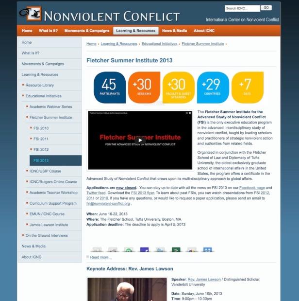FSI2013webpagescreenshot