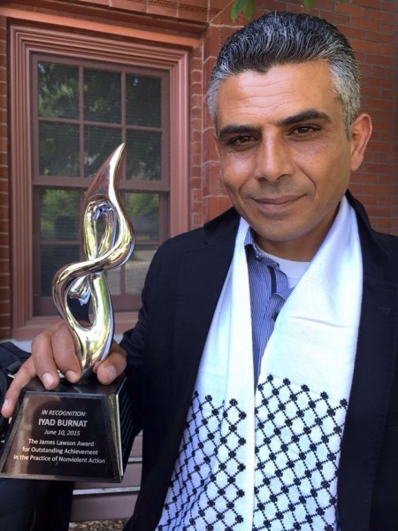 Iyad Burnat has led nonviolent resistance in the village of Bil'in for over a decade.